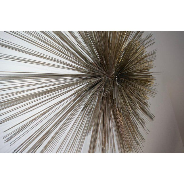 Abstract Mid-Century Modern Pom Pom Wall Sculpture by Curtis Jere For Sale - Image 3 of 9