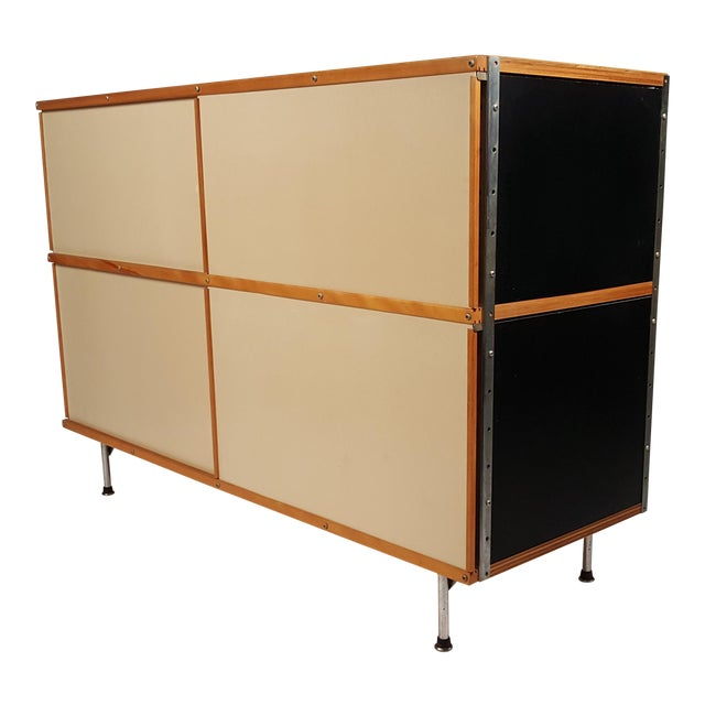 Early ESU 200 Storage Unit by Charles & Ray Eames for Herman MIller For Sale