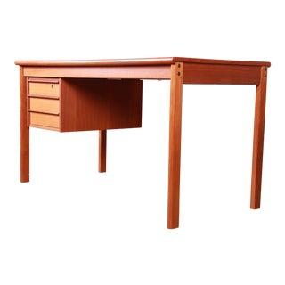 Peter Løvig Nielsen Danish Modern Teak Sliding Top Desk For Sale