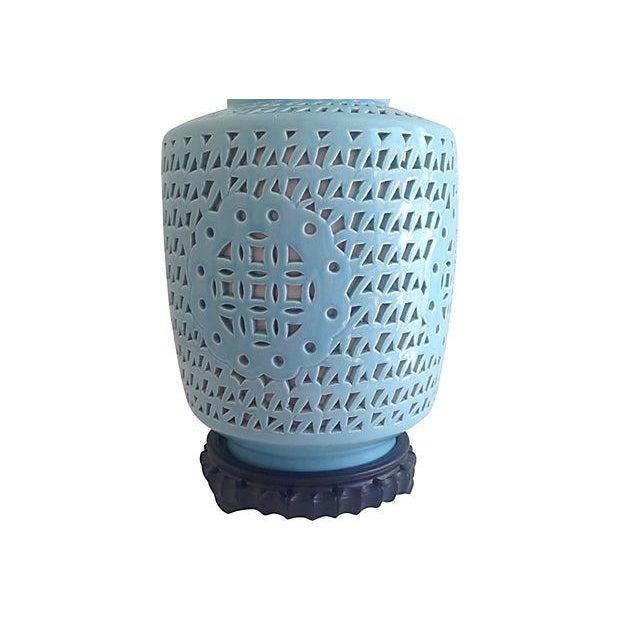 1950s Blanc De Chine Jar Lamp - Image 6 of 10