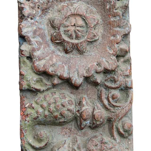 Antique Architectural Carved Panel - Image 3 of 4