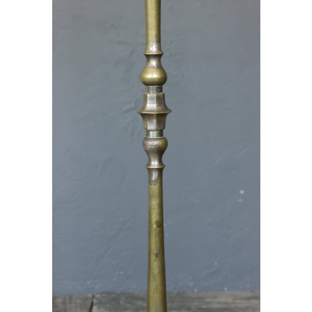 1950s French Bronze Floor Lamp With Extending Arm For Sale - Image 4 of 8