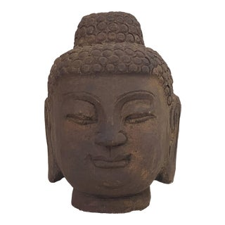 Stone Buddha Head For Sale