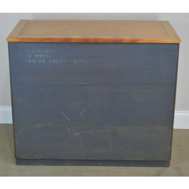 Edward Wormley for Drexel Precedent Pair Mid Century Modern Chests For Sale - Image 9 of 13