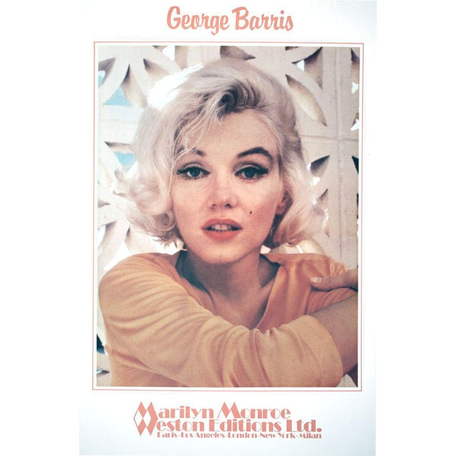 George Barris-Marilyn Monroe- Ethereal Pleasure-1982 Poster For Sale