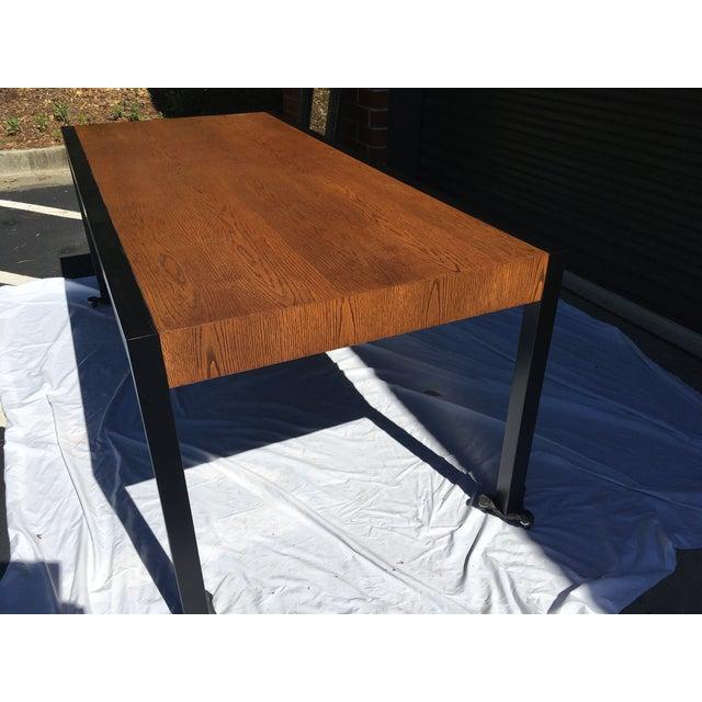 Harvey Probber Harvey Probber Oak Desk For Sale - Image 4 of 13