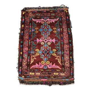 1920s Vintage Turkish Anatolian Pillow Sham - 1′8″ × 2′6″