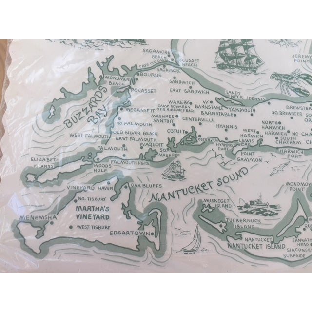 Paper Placemats Cape Cod - Set of 36 For Sale - Image 5 of 7