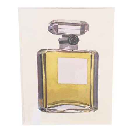 """Chanel No. 5 Original Watercolor by Robert Cottingham For Sale"