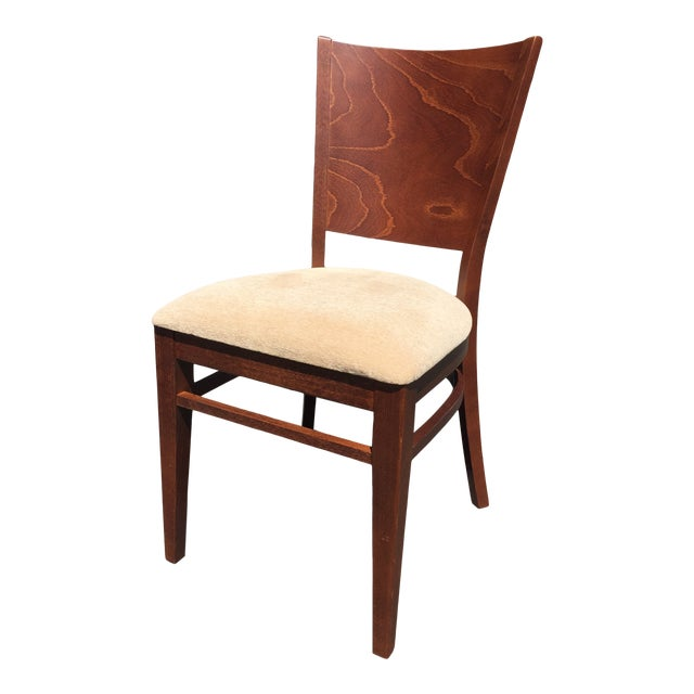 Modern Beech Wood Dining Chair For Sale