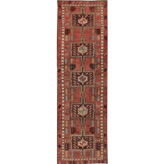 "Apadana - Antique North West Persian Rug, 2'9"" x 9' For Sale"