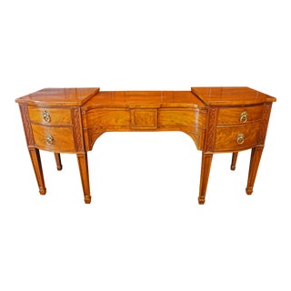 Early 19th Century George III Drop-Center Sideboard For Sale