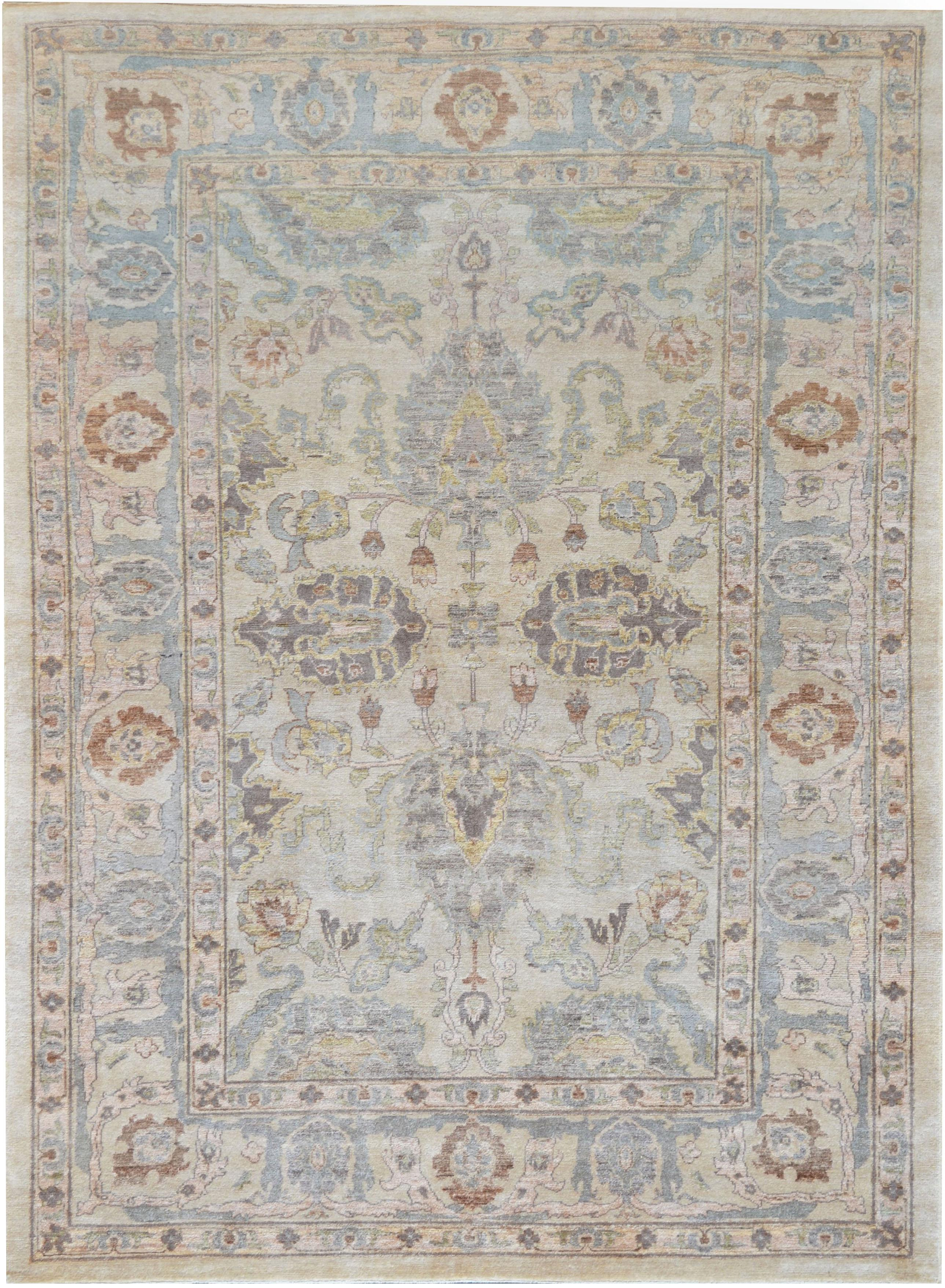 Mansour Exceptional Handwoven Agra Rug 6 X 8 3 Chairish