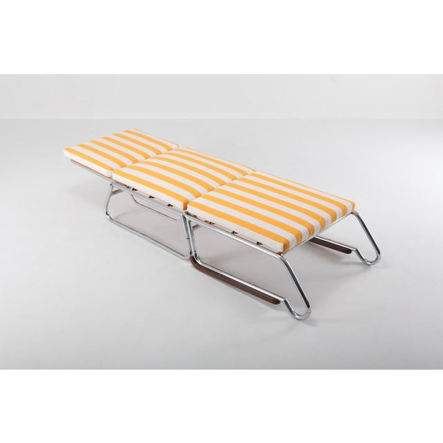 Tubular Chrome Lounge Chair For Sale - Image 9 of 11