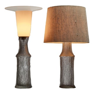 Pair of Timo Sarpaneva table lamps for Iitala, Finland, 1960s For Sale