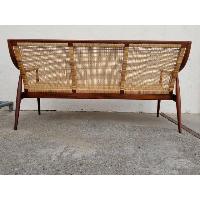 Danish Modern Sofa by Peter Hvidt and Orla Mølgaard-Nielsen For Sale In San Francisco - Image 6 of 12