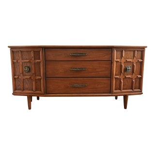 Drexel Heritage Bowfront Spanish Mission-Craftsman Style Credenza