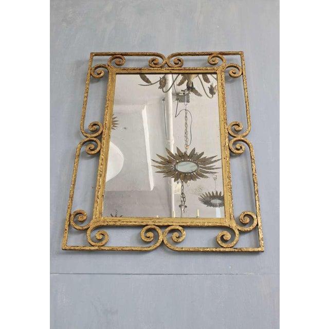 Spanish Gilt Metal Mirror - Image 7 of 10