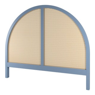 Eva Headboard - Queen - Summer Mist Blue For Sale