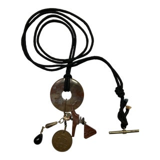 Studio Artist Designed Charm Necklace, Late 20th Century For Sale