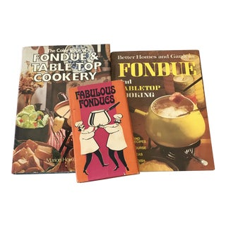 Vintage Fondue Cookbooks - Set of 3 For Sale