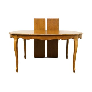 Late 20th Century Vintage Thomasville Furniture Tableau Collection Dining Table For Sale