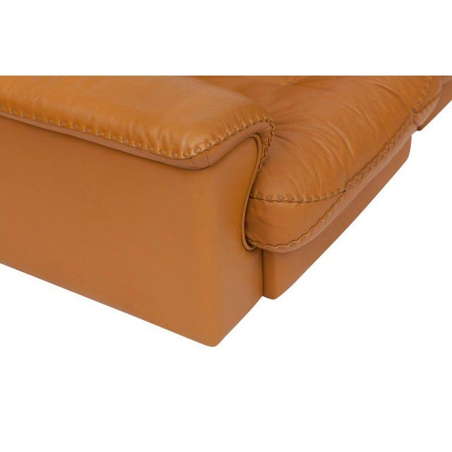 1960s Adjustable Ds 101 Sofa in Brown Leather by De Sede For Sale - Image 5 of 11
