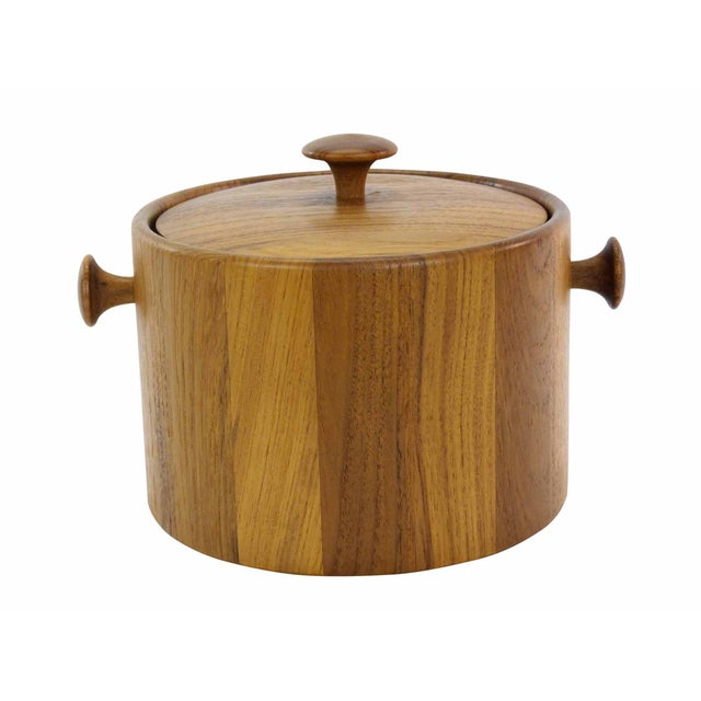 Danish Teak Ice Bucket - Image 1 of 5