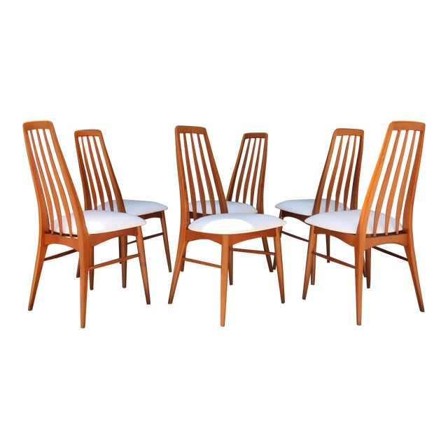 Set of 6 Koefoeds Hornslet Dining Chairs - Image 1 of 11