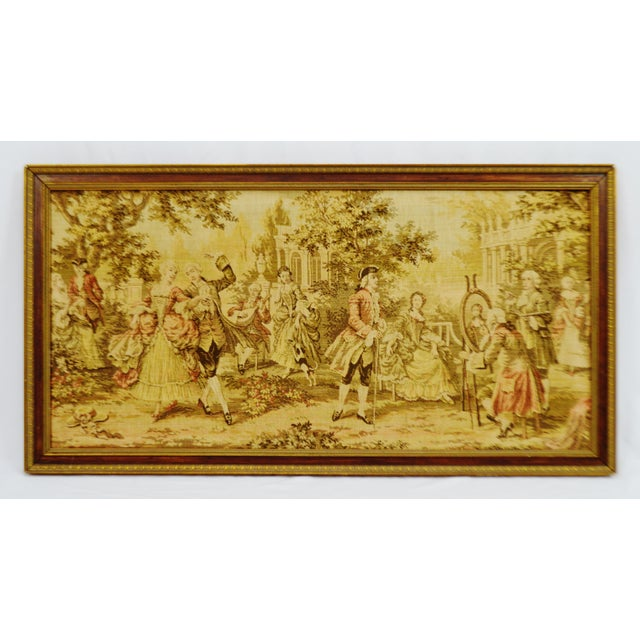 Early Framed Tapestry Wall Art - Image 2 of 11