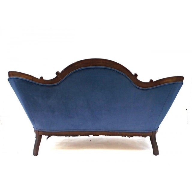 19th Century Antique Victorian Sofa For Sale In New York - Image 6 of 8