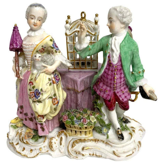 19th Century Meissen Birdcage Grouping For Sale - Image 12 of 12