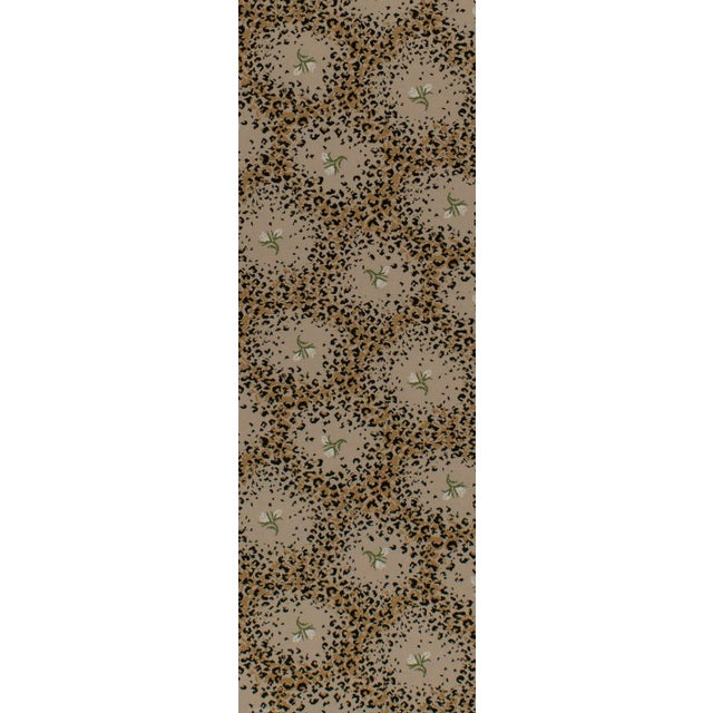 """Limited Edition - White Leopard Rose Petite - 2'8"""" x 8'3"""" For Sale"""