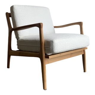 Mid Century Birch Wood Chair For Sale