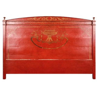 Niermann Weeks Style Venetian King Headboard For Sale