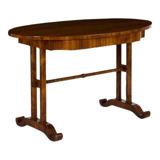 Austrian Biedermeier Antique Writing Table Desk Circa 19th Century For Sale