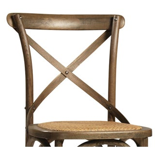 Rattan Seat Oak Dining Chair Preview