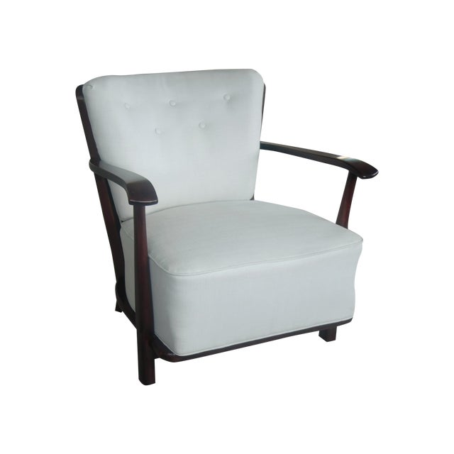 Mid-Century Model 1595 Armchair by Fritz Hansen - Image 1 of 10