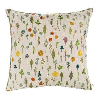 Garden Pattern Pillow For Sale