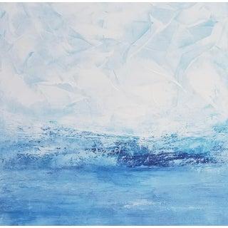 """""""Sea Breeze"""" Contemporary Coastal Fine Art Print For Sale"""