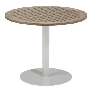 "36"" Round Outdoor Bistro Table, Vintage For Sale"
