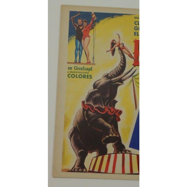 Vintage Spanish Circus Movie Poster Bimbo Elephant - Image 5 of 6