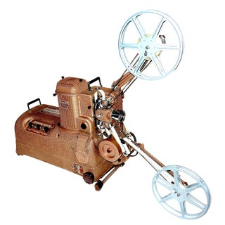 Cinema Motion Picture Projector circa 1940's For Sale