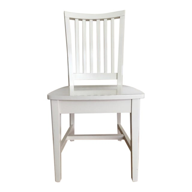 Pottery Barn Kids White Side Chair - Image 1 of 5