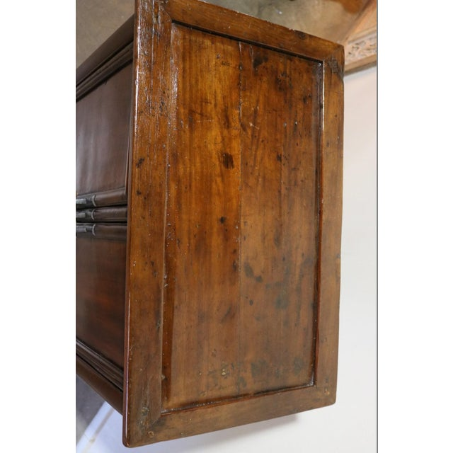 Brown 1900s Antique Nanmu Wood Armoire For Sale - Image 8 of 10