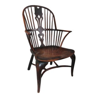 18th Century English Windsor Side Chair For Sale