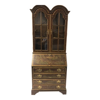 1970s Chinoiserie Secretary by Jasper