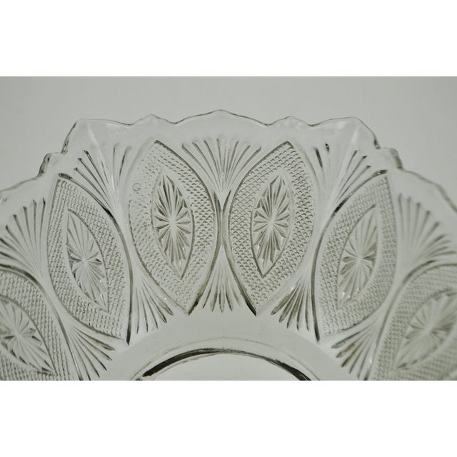 Victorian Style Pressed Glass Gas Light Shade For Sale - Image 9 of 13