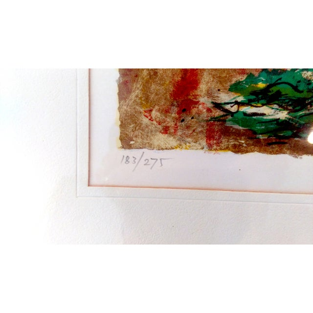 Green Still Life Lithograph by Bertoldo Taubert For Sale - Image 8 of 10
