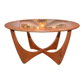 1960s Mid Century Modern Victor Wilkins G Plan Astro Coffee Table For Sale